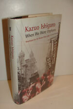 When We Were Orphans by Kazuo Ishiguro UK 1st/3rd 2000 Faber Hardcover