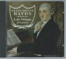 CD: HAYDN - Sonatas, Lola Odiaga, fortepiano