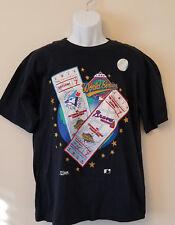1992 Baseball World Series Collectible Shirt Toronto Blue JaysVS Atlanta Braves