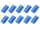Knukonceptz Blue 1 0 Gauge 31 Heat Shrink Tubing W Adhesive Glue - 10 Pack