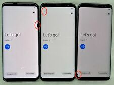 Samsung Galaxy S8 G950U 64Gb Black Dot Lcd Factory Unlocked Smartphone