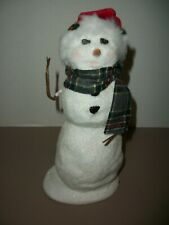 2014 Byers Choice Snowman Figurine