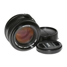 Minolta Md 50mm 1: 1,4 Alto Flusso Luminoso Normalobjektiv da Commerciante