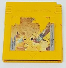 Nintendo Gameboy - Genuine Pokemon Yellow Tested Cartridge FAST FREE POST