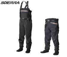 NEW 2018 Scierra X-Stretch Wader Stocking Foot Chest Fly Fishing Various Sizes