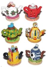 Tetley GB Tea Limited Edition Teapots Set of 6 1996