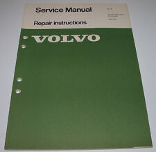Service Manual Volvo 240 264 Front + End Steering Repair Instructions 09/1974!
