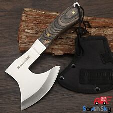 Survival Tomahawk Axe Outdoor Tactical Machate Hatchet Camping Free Shipping