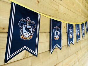 HARRY POTTER RAVENCLAW Bunting Party Event Hogwarts Celebration Polyester 4m🖤