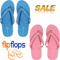 New Mens Ladies Unisex Flip flops Beach Summer Holidays Pool Sandals All Sizes