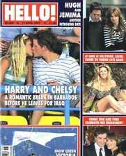 HELLO MAGAZINE #965 HARRY & CHELSY, RACHEL HUNTER, KATE FORD, VICTORIA BECKHAM