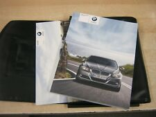 BMW 3 SERIES SALOON ESTATE OWNERS MANUAL  HANDBOOK PACK  2008-2012 I DRIVE