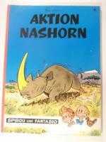 Spirou und Fantasio Bd. 4, Aktion Nashorn Carlsen 1.Auflage Z 1
