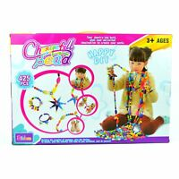 DIY Girls Fashion Pop Arty Beads Jewellery Set Handmade Creative 425pcs Kit Toy