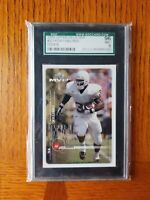 1999 Upper Deck MVP Ricky Williams SGC 9 #201 Saints Dolphins