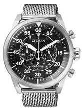 Citizen Ca4210-59e Mens Eco-drive Solar Watch Wr100m Chronograph