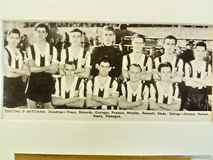 Amateur football team print  TOOTING & MITCHAM F.C.