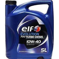 3x Elf Evolution 700 TURBO DIESEL 10W40 5L Aceite de motor Lubricante coche 15L
