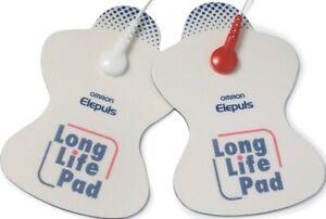 Omron TENS Long Life Pads Electrode Pads for E1 E2 E3 E4 Soft Touch Device
