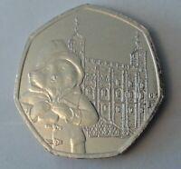Paddington Bear At The Tower 50p Coin 2019 RARE UNCIRCULATED From Sealed Bag