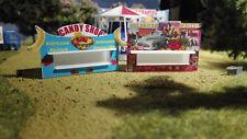 2 Kirmesbuden Candy Shop + Schießstand | Spur N  | Kirmes | Rummel | Volksfest
