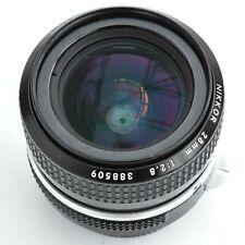 Nikon Nikkor 28mm f/2.8 AI Converted Man'l F'cs Lens. Exc+++. Tstd see test pics