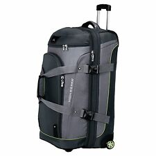 High Sierra Luggage AT3 32-inch Drop-Bottom Wheeled Duffel Backpack Graphite