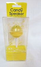 MollaSpace Lollipop Speaker USB rechargeable speaker for MP3 players