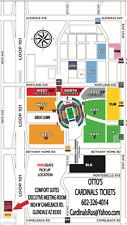 Arizona Cardinals Pittsburgh Steelers 12/8 Green E East Lot Parking Pass Tickets
