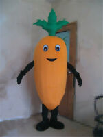 Carrot Mascot Costume Turnips Cartoon Vegetables Cosplay Adult Fancy Party Dress