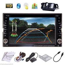 "6.2"" Touchscreen Car Stereo CD DVD Player/Radio/2DIN GPS Navi Bluetooth+Camera"