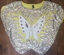Topshop Sequin Waist Length Tops & Shirts for Women