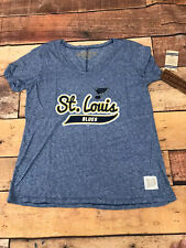St. Louis Blues NHL Womens T Shirt Brand New Size Large F118