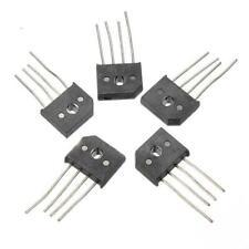 5 Pcs 10A 1000V KBU1010 Single Phases Diode Rectifier Bridge IC Chip