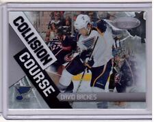 DAVID BACKES 10/11 Panini Certified Collision Course /500 #2 St Louis Blues Card