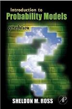 Introduction to Probability Models, Ninth Edition, Ross, Sheldon M., Acceptable