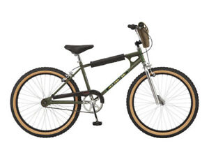 "Netflix Stranger Things: Max BMX-style Bike, 24"" wheel, Chrome / Yellow"