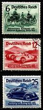 DEUTSCHES REICH, INTERNATIONAL CAR EXHIBITION IN BERLIN, MICHEL # 686-8, (SU057)