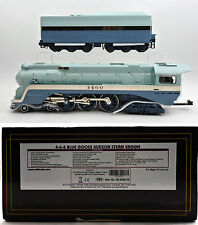 MTH O SCALE 20-3436-1E SANTA FE 4-6-4 BLUE GOOSE STEAM ENGINE & TENDER PROTO-3