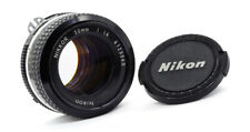 NIKON NIKKOR 50mm f1.4 AI - 1980 - EXCELLENT!