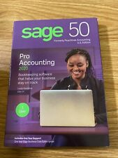 brand new SAGE 50 Pro Accounting 2020 Software, Traditional Disc Free SHIPPING