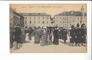 Bozen.Am Walterplatz (beim Konzert)