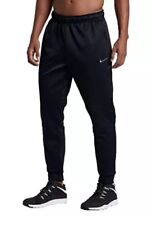 NWT Nike Men's Size XL KO Therma Fit Cuffed joggers Sweat Pants Black 839098 010