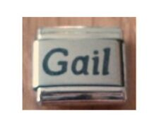 9mm Classic Size Italian Charms Names  Name Gail