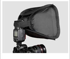 Diffuseur Softbox 23x23cm pr Flash Nikon SB-700/800/900 Canon 430EX 580EX Metz