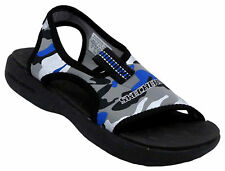 BOYS SKECHERS WAVE RUNNER 2 SUNRAY SANDAL Sz 3 NEW
