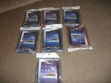 Job Lot of 7 X NEW Sealed Galaxy Tab/p1000 I Pad Cases Red and Blue Carboot?