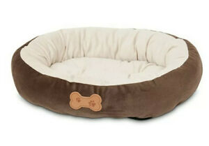 Petmate Pet Small Dog Bed 20 inch by 16 inch Chocolate Brown or Small Cat Bed