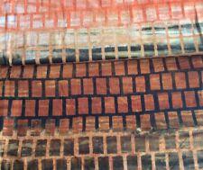 ANTHOLOGY BATIK #15090 -OMBRE/SQUARES-- 1 1/2 YARD