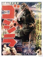 """GODZILLA MOVIE POSTER PRINT (1954) VINTAGE STYLE JAPANESE GOJIRA MOVIE 12""""x18"""""""